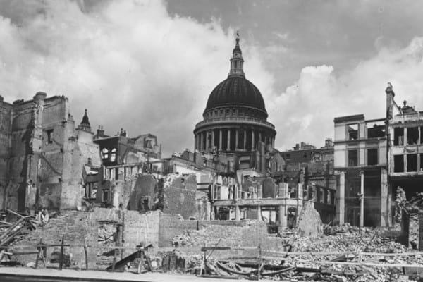 London Blitz City of London
