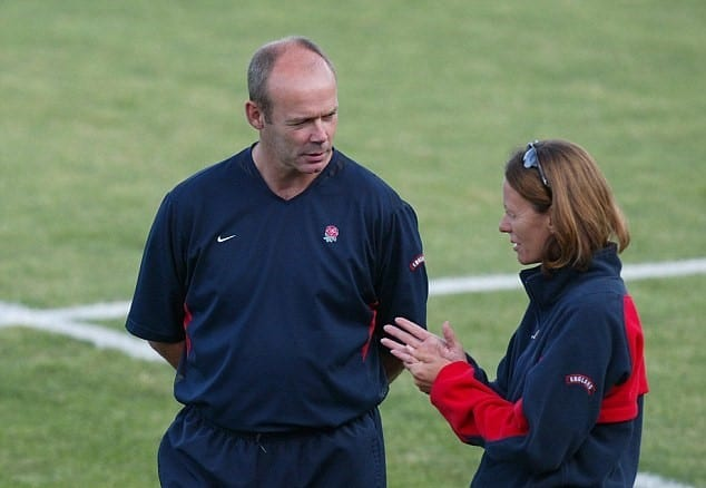 England Rugby Team Coach Clive Woodward