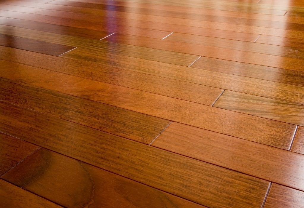 Laminate flooring is made up of a compressed multi layered