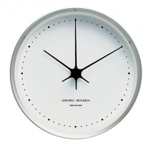 property management companies in london - Georg Jensen Wall Clock