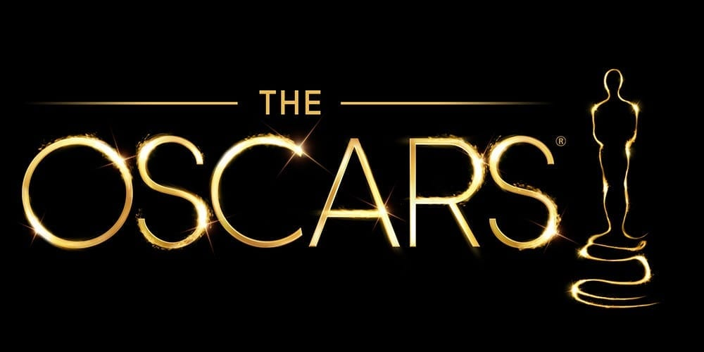 a picture of the Oscars sign along with a golden man which the oscar nominees may win