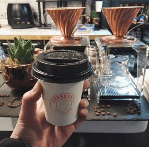 Freestate Coffee in Holborn