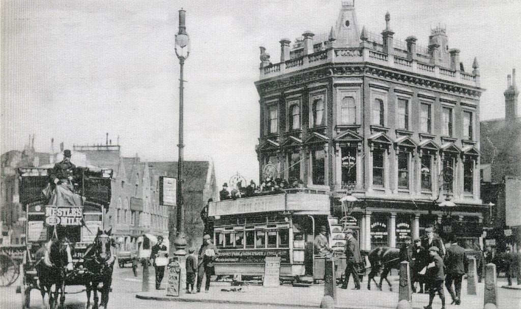 The pub that is now the worlds end in Camden, previously known as Mother red cap