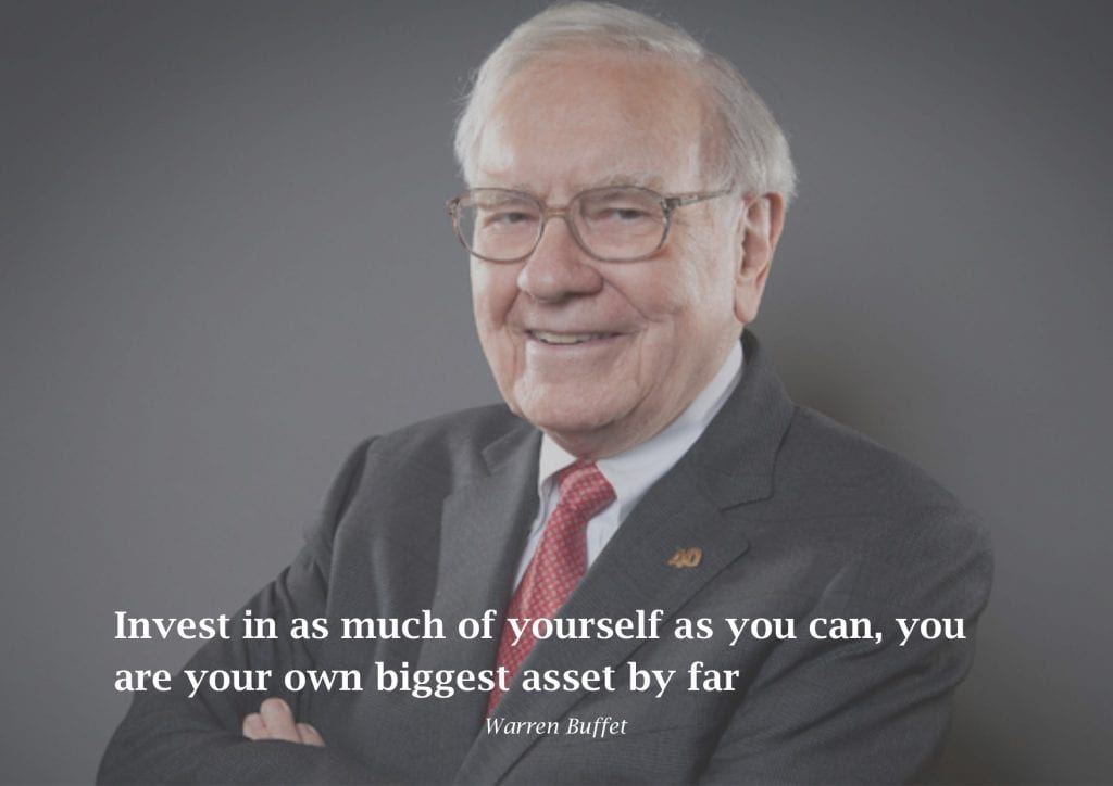 warren buffett with advice for property managers
