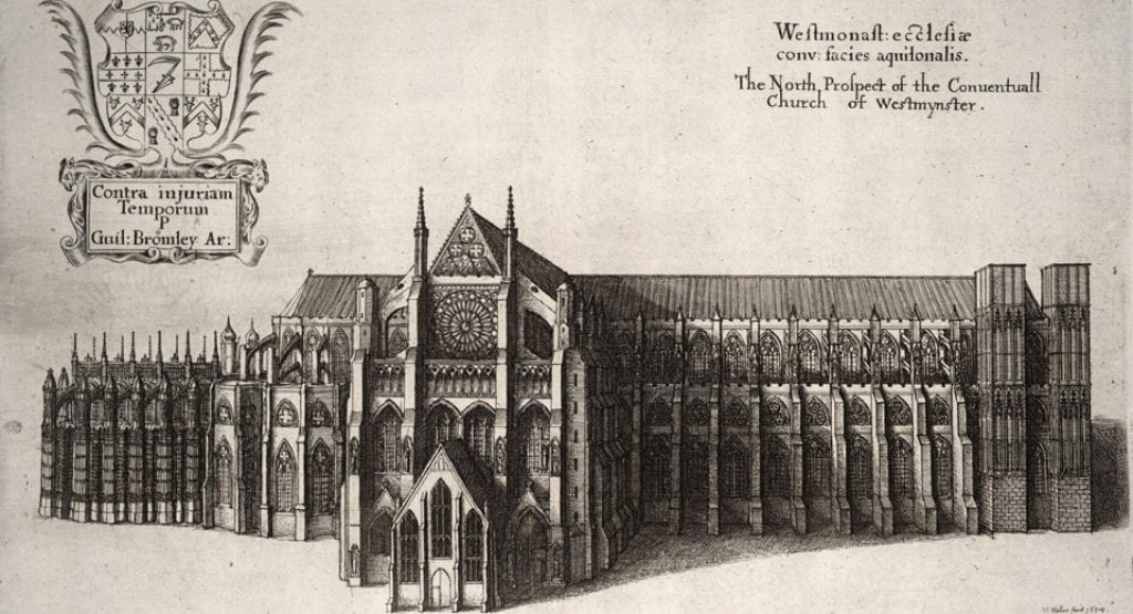 Westminster abbey drawing